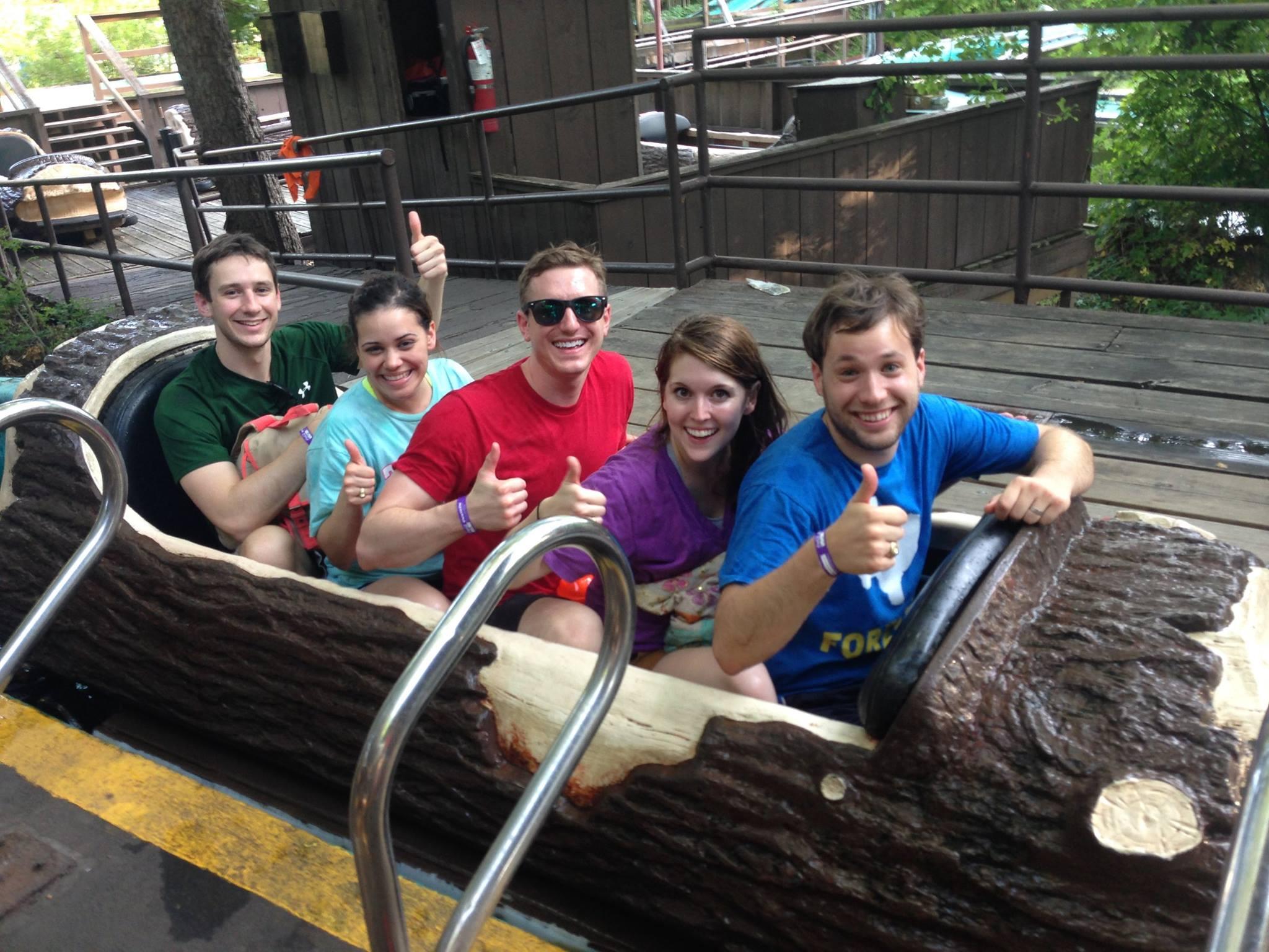 Log Ride Fun!